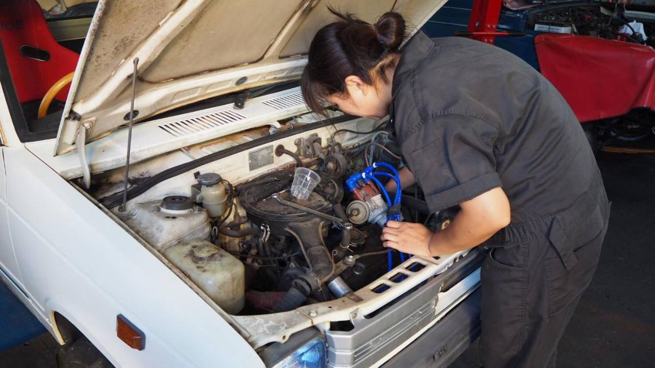 エンジン修理1